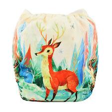 ALVA baby Boy Cloth Diaper Reusable Washable Pocket Nappy +1Insert Sika