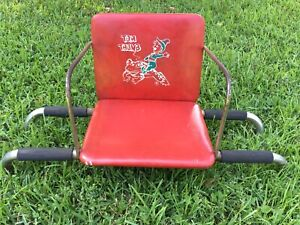 Vintage Tom Thumb Barber Chair Booster Seat Red Vinyl