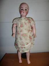 """JD Kestner ~ Rare Antique 24"""" Bisque #196 Doll"""