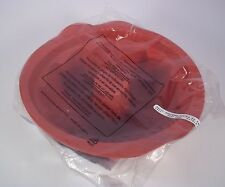 Tupperware Magic Bakeware Silicone Fluted Round Bundt Pan Mold Form NEW Flexible