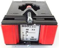 MBS ASK 31.3 Stromwandler Messwandler Nr. 12I Pri. 400A Sek. 5A 2,5VA KL. 1