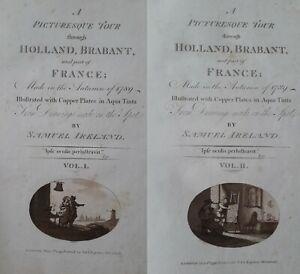 Ireland 1790 Tour through Holland Belgium France 44 plates