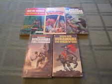 Collection Of Vintage Edgar Rice Burroughs Paperbacks
