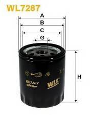 WIX FILTERS WL7287 OIL FILTER  RC516947P OE QUALITY