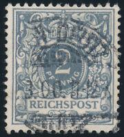 DR 1900, MiNr. 52 I, gestempelt, gepr. Jäschke-L., Mi. 180,-