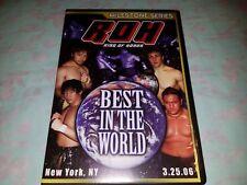 ROH Best in the World DVD Ring of Honor Samoa Joe Daniel Bryan Austin Aries WWE