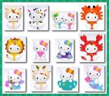 Bandai Sanrio Hello Kitty Gashapon Zodiac Phone Strap Figure 12 pcs Full set