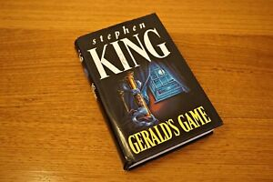 Gerald's Game – Stephen King hardback with imperfections