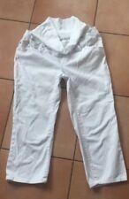 Schwangerschafts 3/4 Jeans von noppies Gr.36/38 in weiß, neuwertig