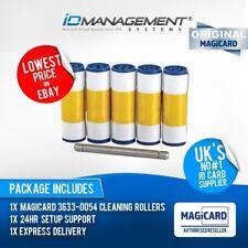Magicard Enduro/Rio Pro Rullo Kit di pulizia * confezione da 5 * prezzi bassi