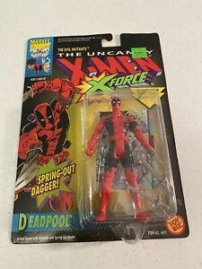 Marvel Toy Biz Uncanny X-Men/ X-Force Deadpool 1992 1st Deadpool Figure RARE!!