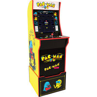 Pac Man Classic Arcade1up Full Size Cabinet & Riser