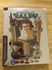 Wreck-It Ralph Mondo #34 UK Steelbook (Blu-ray, Region Free)