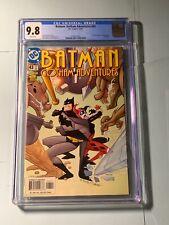 Batman Gotham Adventures #43 CGC 9.8 DC 2001 Harley Quinn