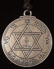 Pentacle of Mars Solomon Seal Talisman Hermetic Kabbalah Goetic Amulet w/Bag!