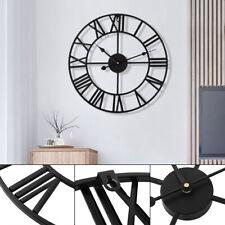 Handmade Clock Large Gear Wall Clock moden Rustic Wooden Luxury Art 40CM