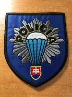 SLOVAKIA POLICE PATCH NATIONAL SWAT SRT TEAM - ORIGINAL!