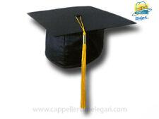 """cappello da laurea """"tocco"""" tesi di laurea università  College Hat giallo"""