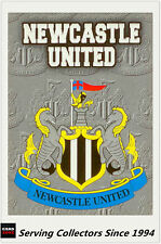 1996-97 Merlin Gold Premier League Soccer Card Club Emblem E13: Newcastle United