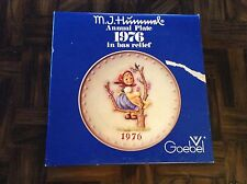 1976 through 1979 Mj Hummel / Goebel collector plates