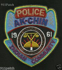 AK-CHIN Indian Community Tribal Arizona Law Enforcement POLICE Patch