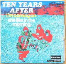 Scarce Ten Years After - I'm Coming  & She Lies in the Morning  StrongVG+ French