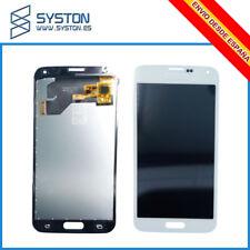 Pantalla Táctil LCD Display Compatible Para Samsung Galaxy S5 G900F i9600 Blanco