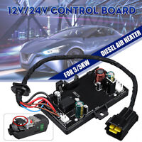 12V 24V Air Diesel Heater Parking Remote Controller LCD Monitor Switch Board UK