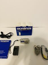 Olympus Stylus 600 Digital 6.0MP Digital Camera In Box With Battery Cables
