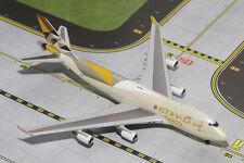 GEMINI JETS ETHIAD CARGO BOEING 747-400F1:400 DIE-CAST MODEL GJETD1477