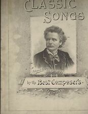 Classic Songs by the Best Composers (1893) BF Banes Songbook