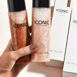 UK ICONIC LONDON -Prep & Set & Glow Primer Shade Glow Original Full Size 120ml