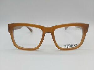SUPERDRY SDAF 1401 eyeglasses glasses frame - col:102 light brown NEW