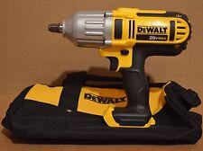 "DEWALT DCF889H 20V Max Cordless 1/2"" Impact Wrench Hog Ring (400ft-lbs)+ Kit Bag"