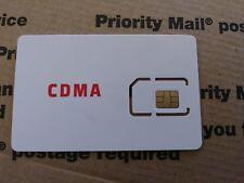 Fits VERIZON Samsung Galaxy J3 - RED POCKET SIM Card 4G LTE CDMA