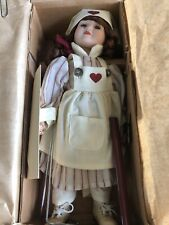 Boyds Yesterdays Child Collection Nurse Catherine Porcelain Doll  #4806 1999 GUC