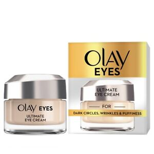 Olay Eyes ultimate eye cream for dark circles wrinkles & puffiness 15ml - new