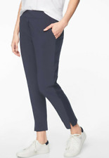 Athleta BROOKLYN Ankle Pant Lightweight Size 2 NEW NAVY BLUE 198671