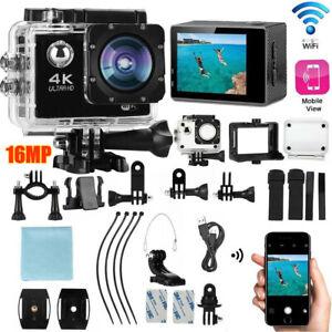 SJ9000 Ultra 4K 1080P Sport WiFi Cam Action Camera DV Video Recorder Go 16MP Pro