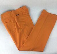 Dolce & Gabbana Orange Casual Pants Size 52 IT -  34 US
