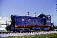 Original Slide B&O Railroad 9531 Switcher Lincoln, IN 1992