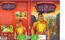 The Last of The Mohicans:Storybook Classics-1942-Animated-Movie-DVD