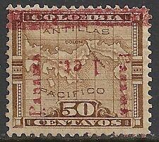 Panama 1906 YV 82 INVERTED Overprint  MLH  F/VF