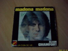 Vinyles 45 tours  Alain Chamfort : Madona Madona
