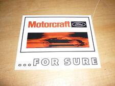 "#3914 1 4.5/"" Motorcraft Ford Motor Company Fomoco Moto Decal Sticker"