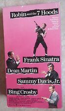 ROBIN AND THE 7 HOODS ~ Frank Sinatra Dean Martin Sammy Davis Jr Bing Crosby VHS