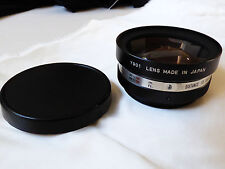 Yashikor Aux. Wide angle photo Camera Lens 1:4 Y901 lens made in Japan