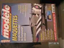 **a Modèle magazine n°625 Plan encarté Machaon 480 / Raptor 50 V2 / Tom 280