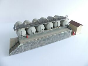 PAUL SOULLEYS MAQUETTE MONTEE DEPOT COMBUSTIBLE N° 2