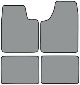 Mats Compatible w/ 2000-2005 Chevrolet Monte Carlo Floor Mat 4pc - Pick Color